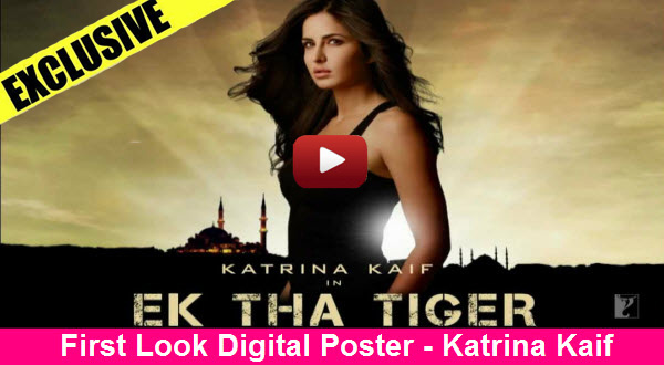 Exclusive First Look Digital Poster - Katrina Kaif in EK THA TIGER