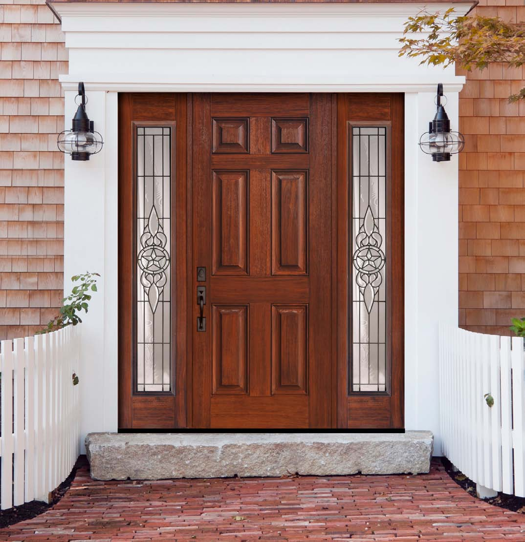 1110 #703929 US Door And More Inc.: Make Your Entry Door Trendy With Sidelights save image Fiberglass Entry Doors With Sidelites 42671074