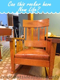 This chair needs love! | Family heirloom