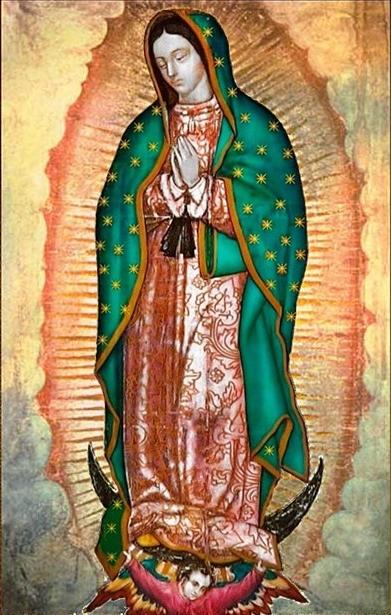 NOSSA SRA. GUADALUPE - RAINHA DA AMÉRICA