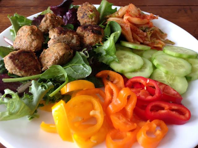 Worthy Pause Paleo Food Blog: Potsticker Paleo Meatballs