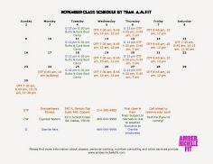 November Classes!