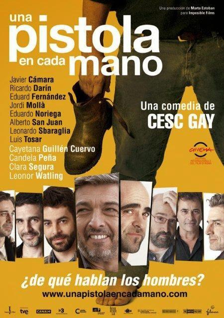 pistola, cada, mano, Cesc, Gay