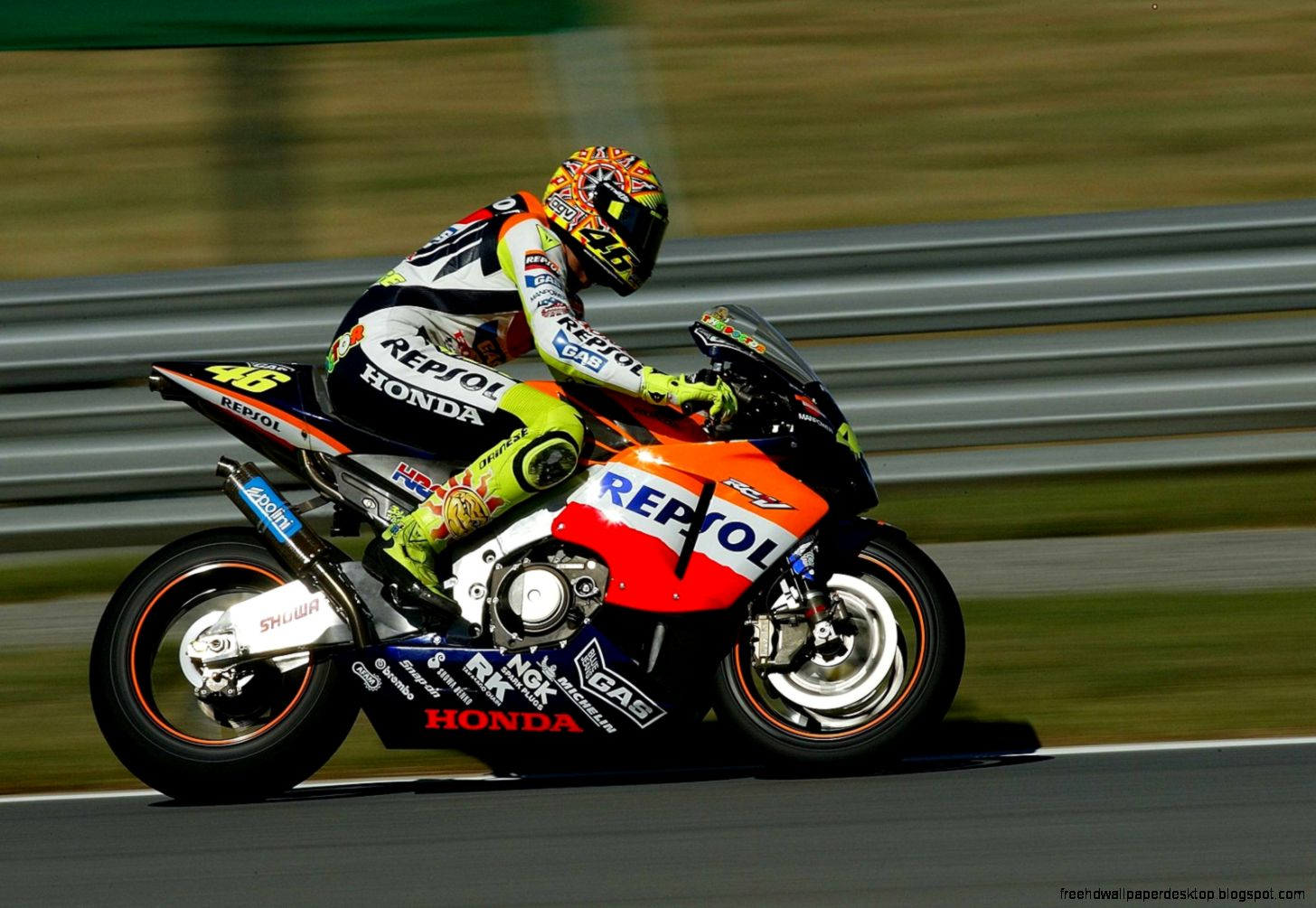 valentino rossi repsol honda hd wallpaper gallery. Black Bedroom Furniture Sets. Home Design Ideas