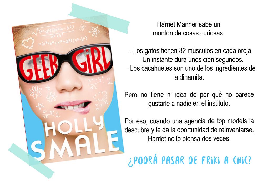 """Presentación de """"Geek Girl"""" en Español."""