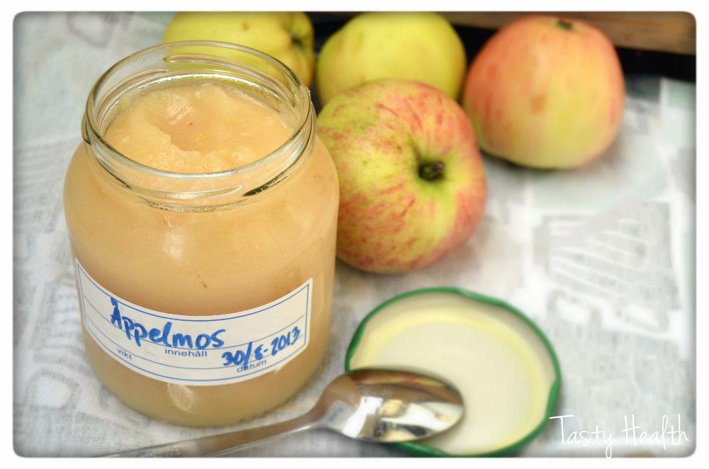 göra egen äppelmos