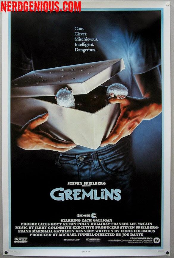 Steven Spielberg produced Christmas horror comedy Gremlins