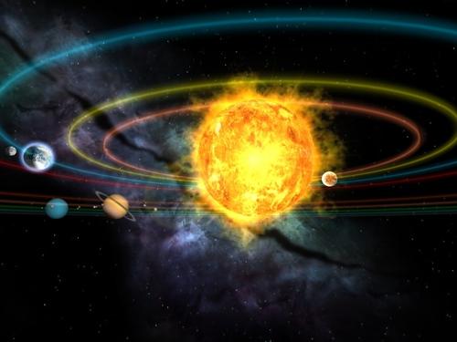 nine planet solar system 3d - photo #6