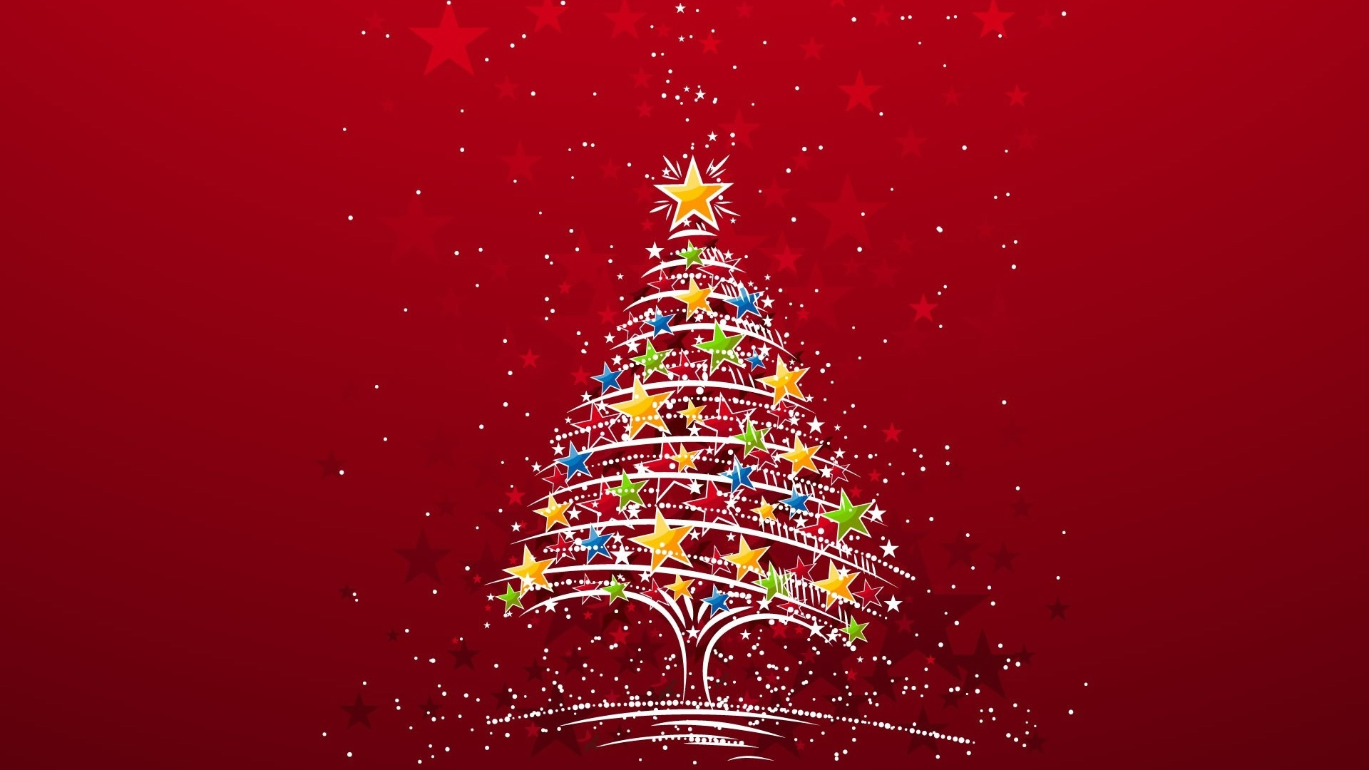 Beautiful Christmas Tree 2012 High Definition Wallpapers