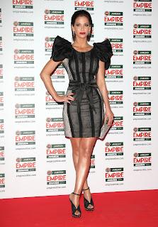 Sarah Harding at the Empire Film Awards