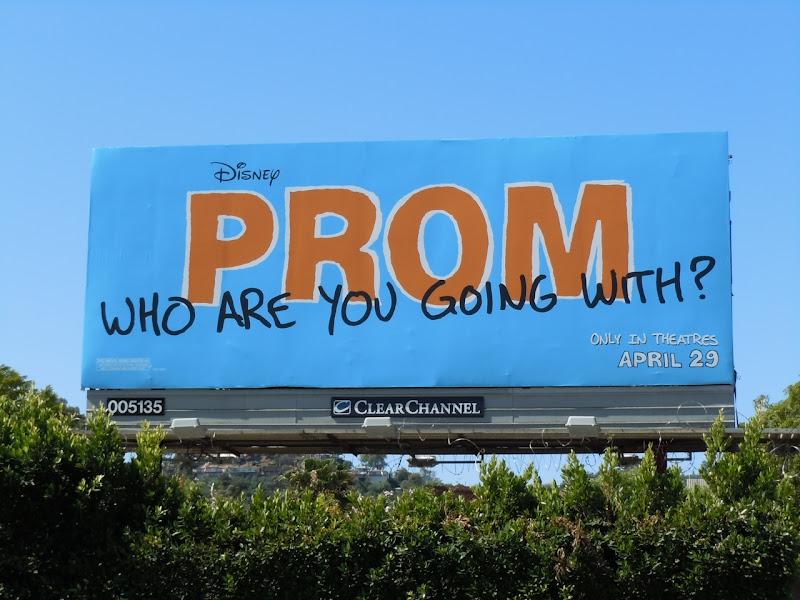 Prom movie billboard