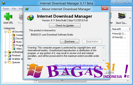 Internet Download Manager 6.11 Beta Build 3 Full Patch 2