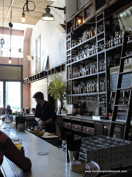 bar at Smokestack at Magnolia Brewing in San Francisco