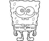 #9 Spongebob Coloring Page