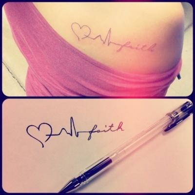 Beleza: Tatuagens de Coração