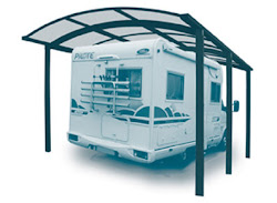 garages camping car metal bois et pvc un carport est l 39 abri id al pour votre camping car. Black Bedroom Furniture Sets. Home Design Ideas