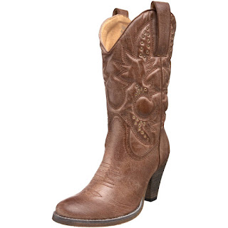 tan cowboy boots for women