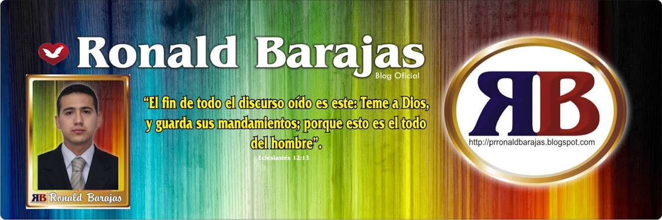 Pr: Ronald Barajas.