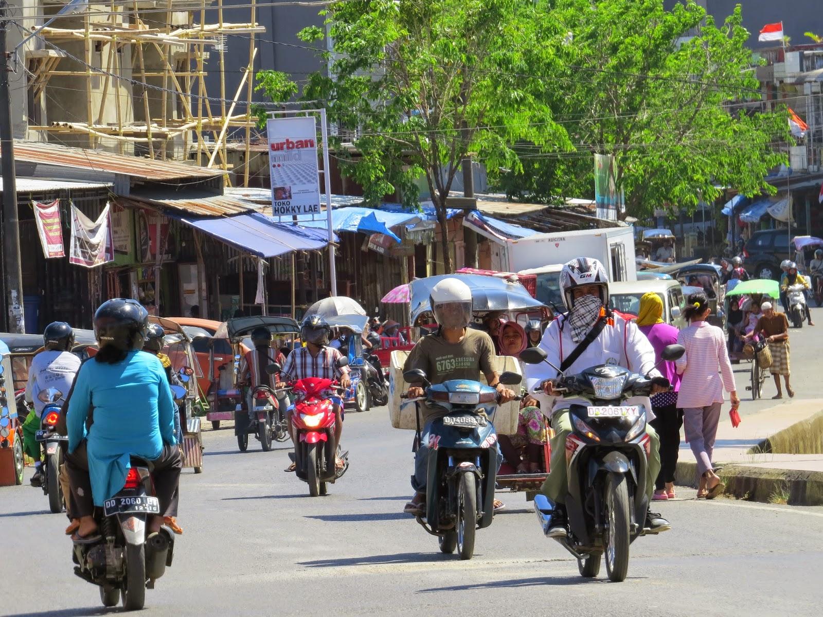 Pasar Sentral Pangkep (Foto Admin)