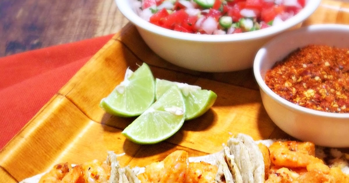 Spicy Tequila-Lime Shrimp Tacos {She Made/Ella Hace} - La ...