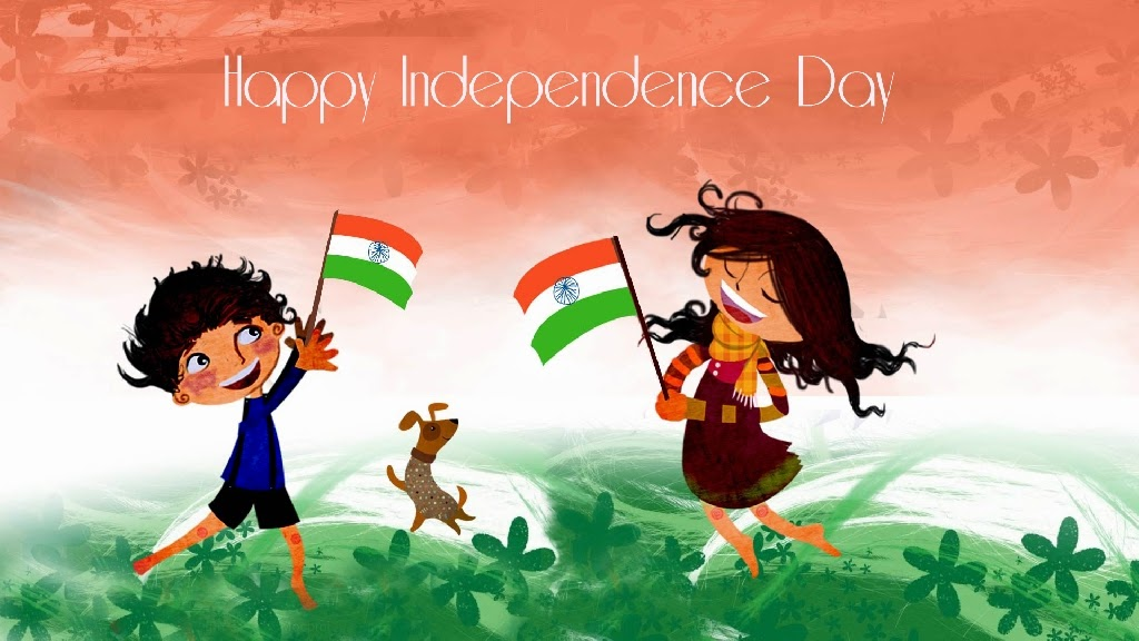 Happy Independence day Cartoon wallpaper