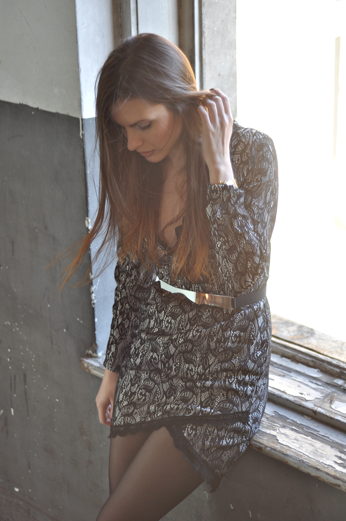aleksandra skorupan, velvet and milk blog, outfit, lace, editorial