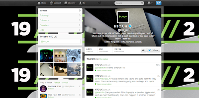 HTC UK Twitter Account Look