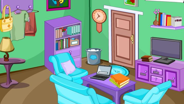 YoopyGames Escape from Leisure Living Room