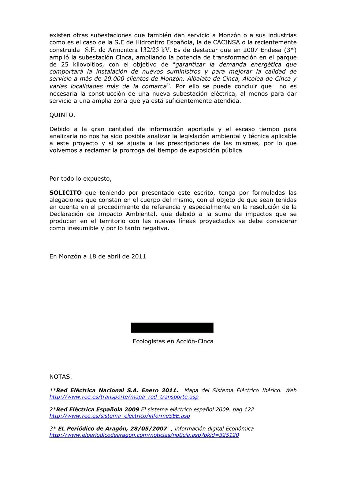 ALTA TENSIÓN / ALTA TENSIÓ: 24/04/11 - 1/05/11