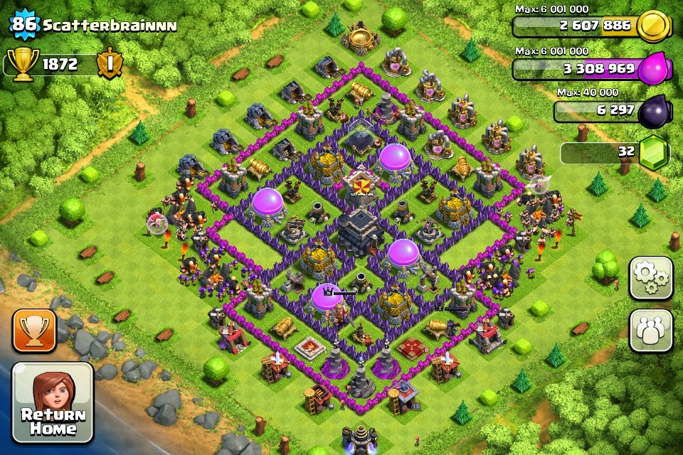 How to Defeat  Base Town Hall 9