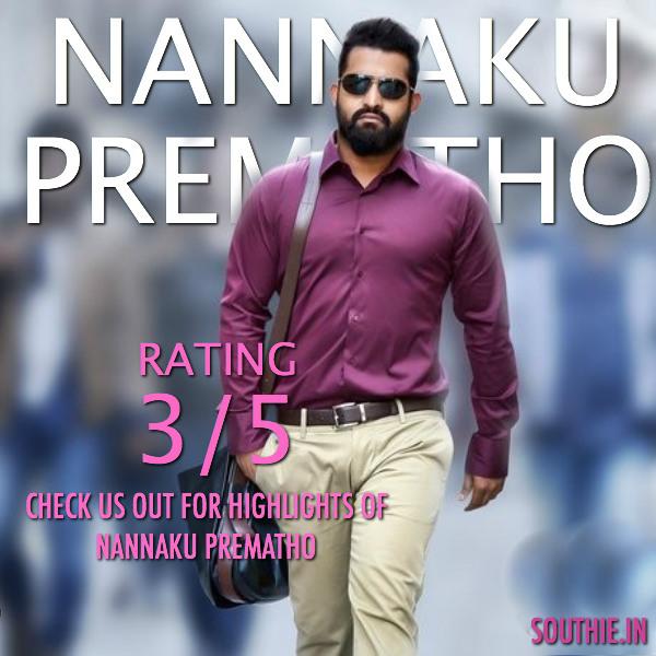 Nannaku Prematho review, rating and box office performance. Check out Nannaku Prematho Highlights, Low points and Box office Performance. NTR, Sukumar, Nannaku Prematho ratings, nannaku Prematho review, Nannaku Prematho Sukumar, NTR 25, RakuL Preet Singh,