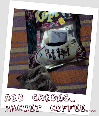 Aik Cheong...Packet Coffee...