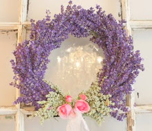 Lavender Wreath...