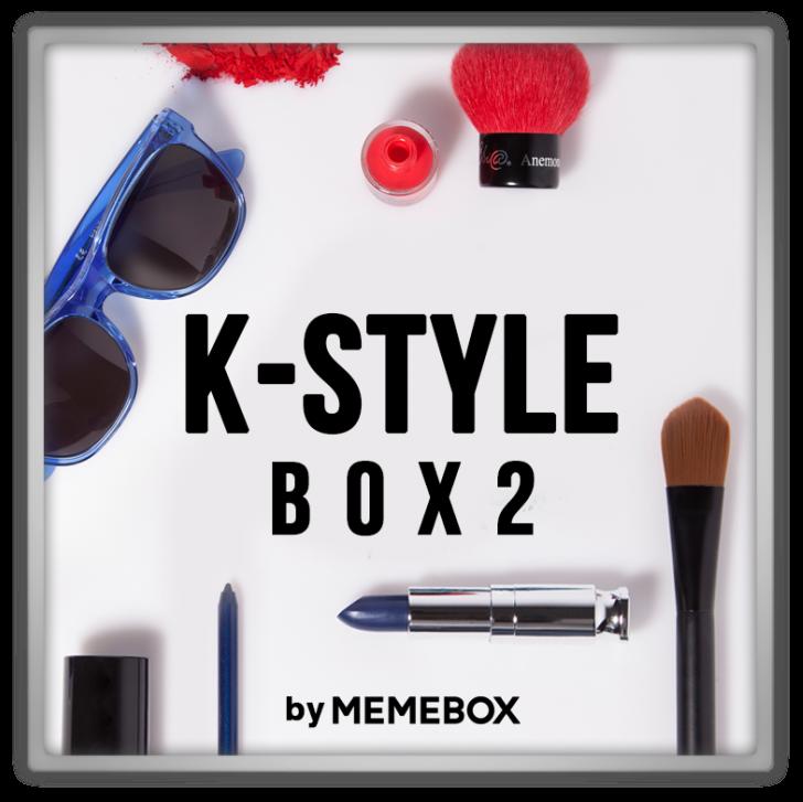 memebox Memebox Special #33 K-Style 2 VIP 미미박스 Commercial
