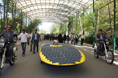 solar technology car, Gazelle 2, energy,