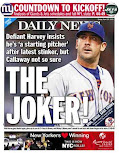 In direct match up, Daily News goes with Mets