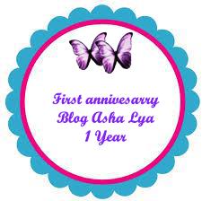SEGMEN FISRT ANNIVERSARY BLOG ASHA LYA
