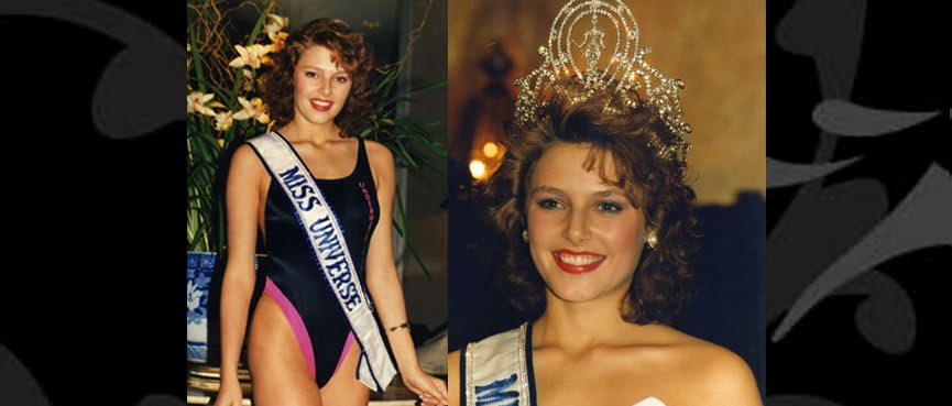 MISS UNIVERSO 1990 - MONA GRUDT