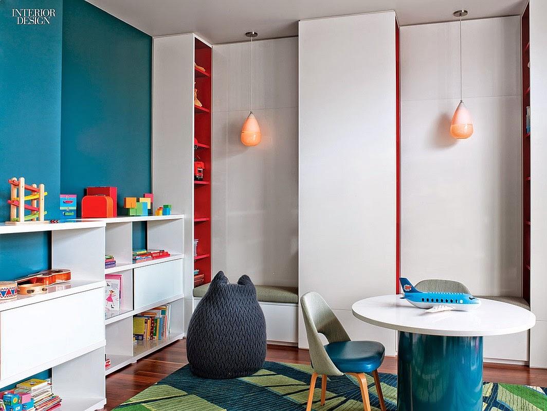 Pflegeleichte Möbel und offene Regale im Kinderzimmer