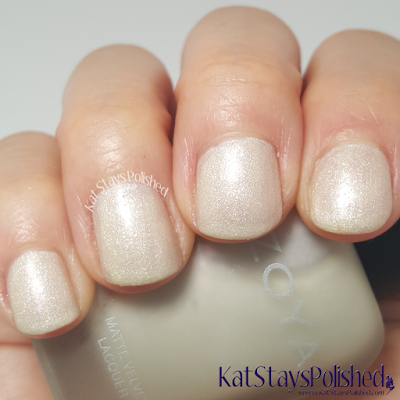 Zoya Matte Velvet 2015 - Sue | Kat Stays Polished
