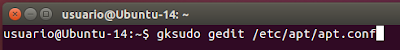 gksudo gedit /etc/apt/apt.conf
