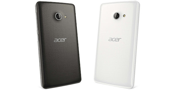 Acer Liquid M220 in mystic black and pure white