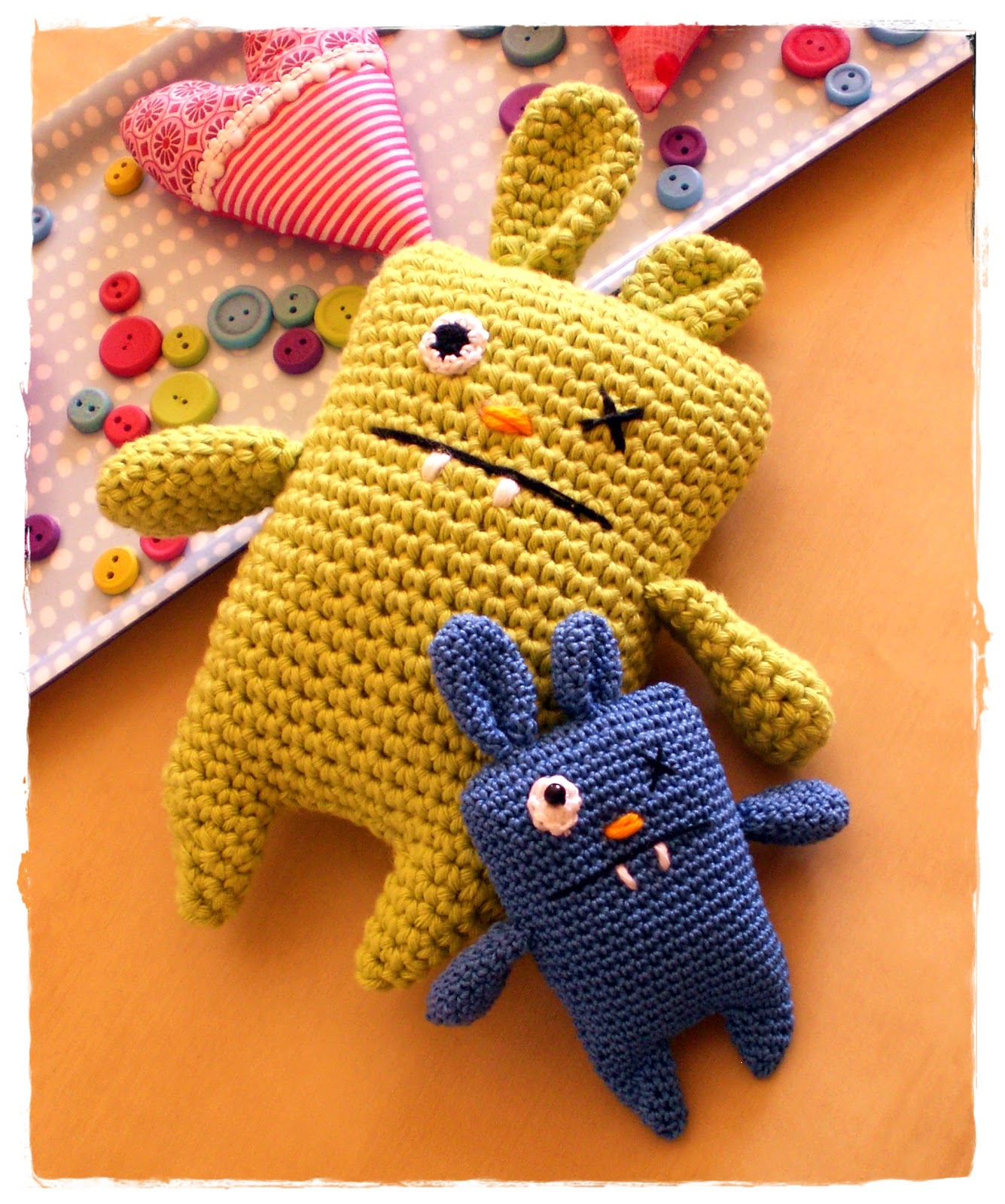 Ugly Doll Knitting Pattern Free : Crochet and Bunnies on Pinterest