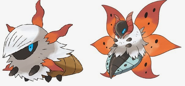 The gallery for --> Volcarona Evolution
