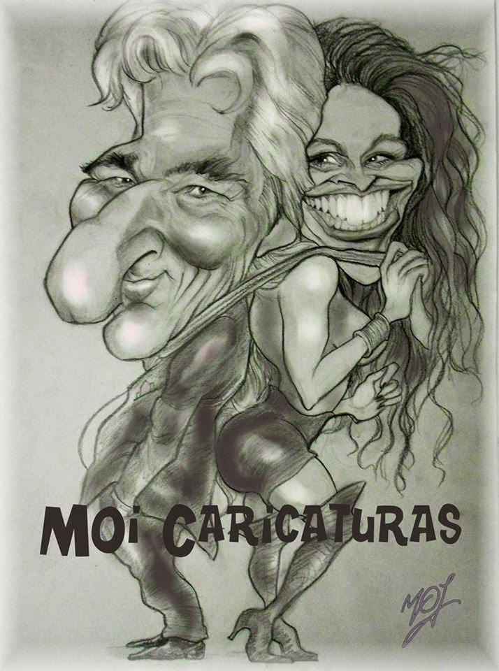 CARICATURAS CON CALIDAD PROFESIONAL