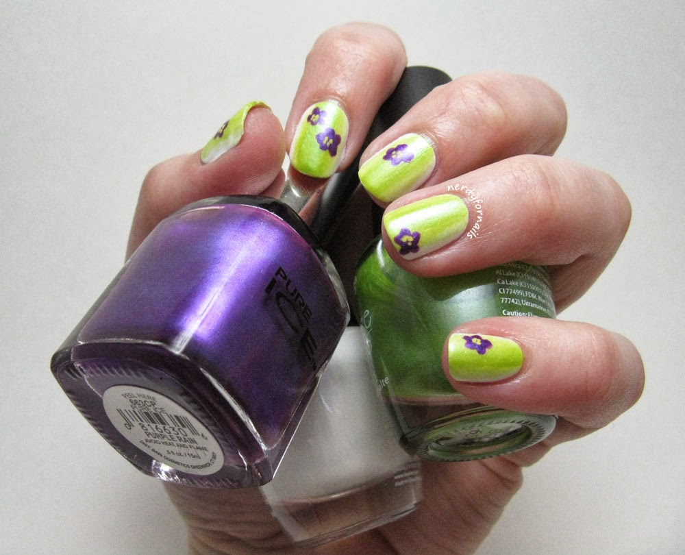 He Picks My Polish March 2014 Violets