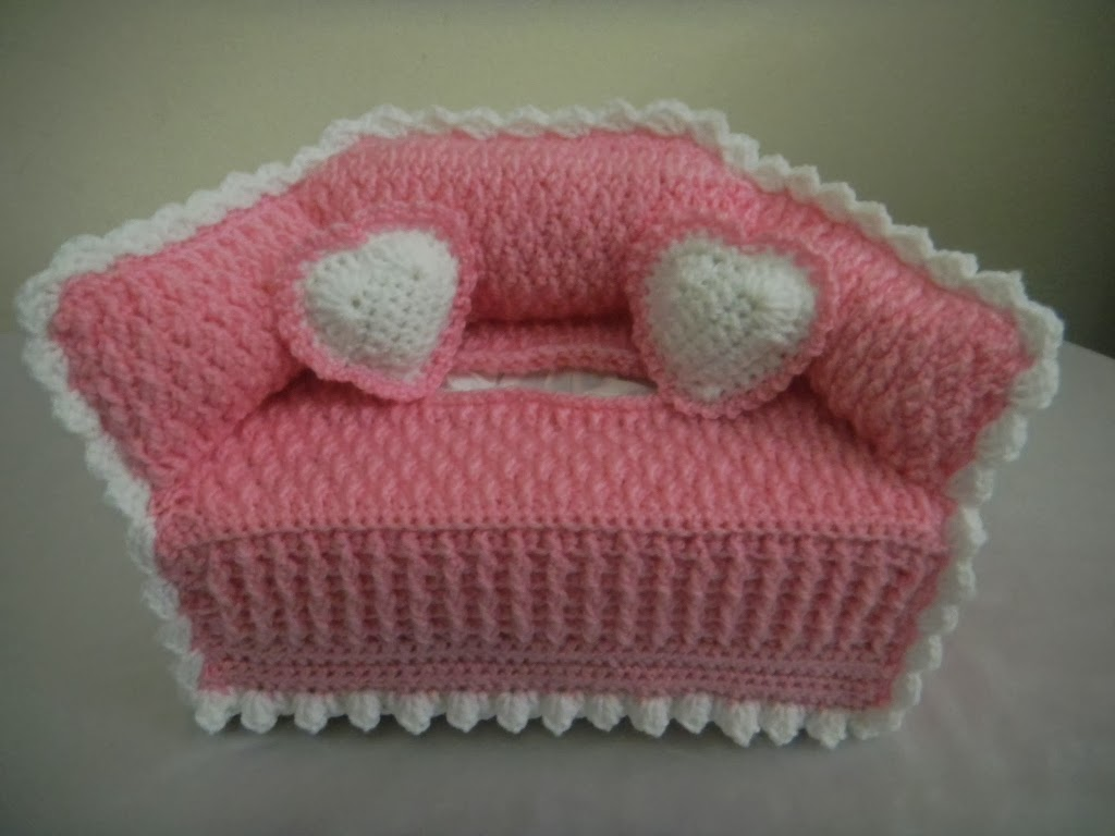sandvicrochet: another sofa tissue box cover