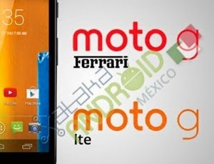 New Motorola G models - LTE and Ferrari