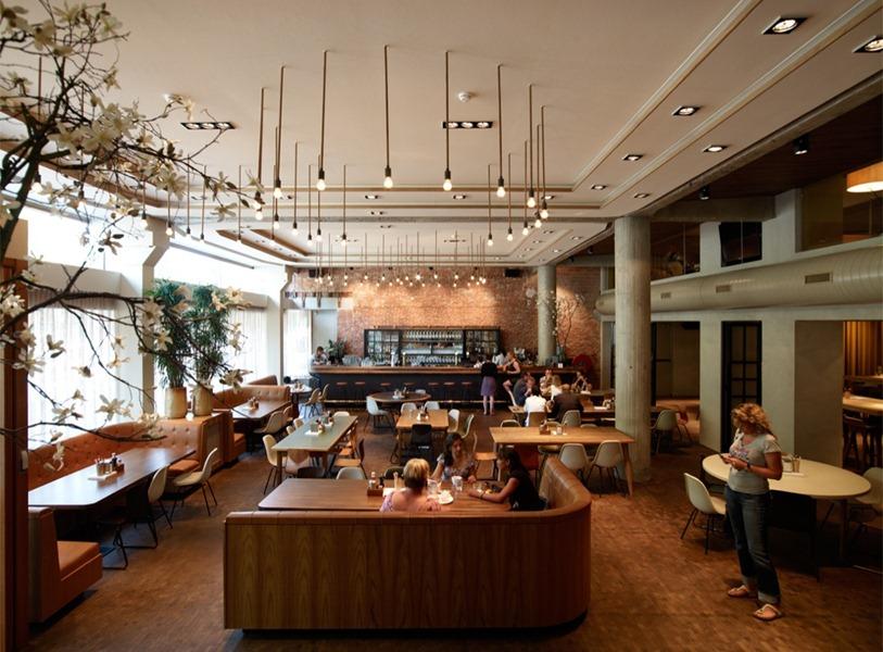 Creatividad en proceso casos analogos for Restaurante arquitectura