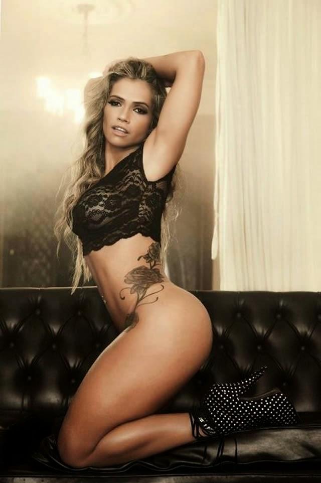 Revista Sexy divulga fotos do ensaio de Fani Pacheco nua na edição de maio